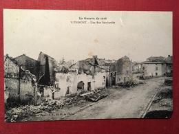 Vitrimont - Une Rue Bombardée  - 6P41b - Unclassified