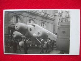AEROPLANO SAVOIA MARCHETTI Per La Strada  Cartolina Originale Dell'epoca - 1939-1945: 2ème Guerre