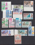 Gibraltar 1960 Definitives 14v ** Mnh (41487G) - Gibraltar