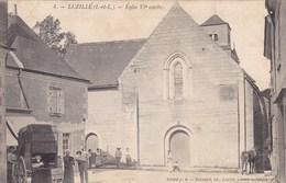 Indre-et-Loire - Luzillé - église VIe Siècle - France