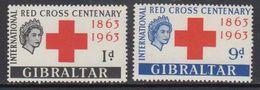 Gibraltar 1963 Red Cross 2v ** Mnh (41487M) - Gibraltar
