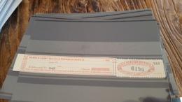 LOT 430280 TIMBRE DE FRANCE NEUF** LUXE N°124 COLIS POSTAUX DE PARIS POUR PARIS - Paketmarken