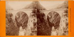 Viron, Saint Saveur, Pont Napoleon - Photos Stéréoscopiques