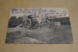 Termonde 1912,la Plaine,les Canons,belle Carte Ancienne Pour Collection - Belgique