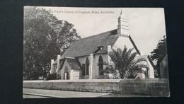 SEYCHELLES - ST. PAUL'S CHURCH OF ENGLAND , MAHE - Seychelles