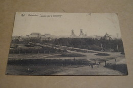 Waterschei,le Charbonnage,mine,mineurs,1931,belle Carte Ancienne Pour Collection - Genk