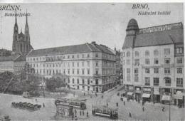 AK 0101  Brünn - Bahnhofsplatz Um 1910-20 - Tschechische Republik