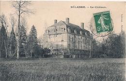 Cpa 36 Bélabre Le Chateau - Francia