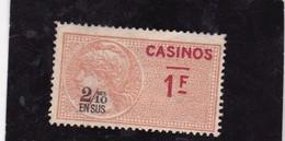 T.F. Casinos N°9 - Steuermarken