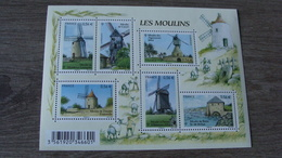 Les Moulins - Feuille N° F4485 (6 Timbres 4485 à 44490) - Année 2010 - Neuf** - Neufs