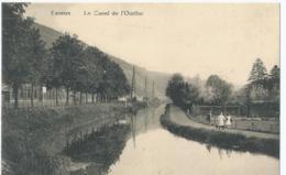 Esneux - Le Canal De L'Ourthe - Edition De L'Hôtel Du Pont Esnenx - Photo Debroux, Liège - Esneux