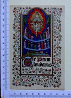CHROMO CARTE POSTALE...ENLUMINURES...DORURES EN RELIEF....SUJETS RELIGIEUX - Vieux Papiers