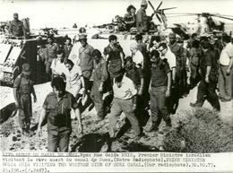 ( EGYPTE )  (ISRAEL  )( MILITAIRES )( MINISTRE ISRAELIEN  ) ( EVENEMENTS ) 1973  17.5 X 12.5 - Luoghi