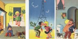 Beau LOT De 3 Cartes  Collection Humoristique 35  (Editeur A Noyer) - Cartes Humoristiques