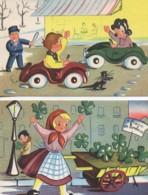 Beau LOT De 2 Cartes  Collection Humoristique 34  (Editeur A Noyer) - Cartes Humoristiques