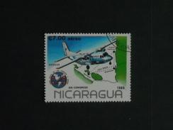 AVIONS- Timbre Oblitéré N° P/A 1089 Du NICARAGUA - Avions