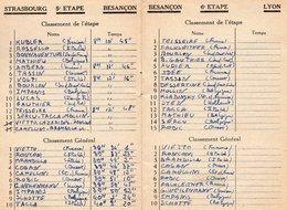 Tour De France 1947 Offert Par La Loterie Nationale, - Radsport