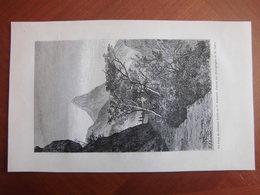 Réunion : Deux Documents De 1886 Le Piton Du Calumet Et Le Cirque De Mafate - Documents Historiques