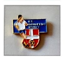 Pin's  SUISSE, Ville, Sport  Foot - Ball  Club  E.S  DRUMETTAZ  MOUXY - Football