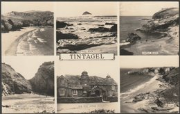 Multiview, Tintagel, Cornwall, C.1953 - Overland Views RP Postcard - Other