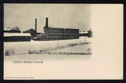 DE1804 - SWEDEN - LITTOIS KLÄDES FABRIK - Suède