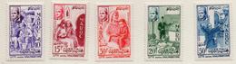 1956 - MAROCCO - MAROC - Yv:  Nr. 369/373 - NH - (UP121.17) - Marocco (1956-...)