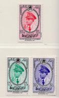 1957 - MAROCCO - MAROC - Yv:  Nr. 380/382 - NH - (UP121.17) - Morocco (1956-...)