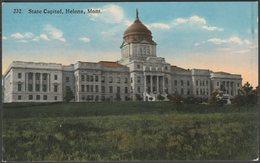 State Capitol, Helena, Montana, C.1914 - Boughton-Robbins Co Postcard - Helena