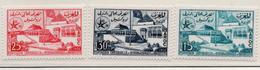 1957 - MAROCCO - MAROC - Yv:  Nr. 383/385 - NH - (UP121.17) - Morocco (1956-...)