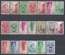 Monaco - YT N° 169 à 183 - Neuf Avec Charnière - 1939 à 1941 - Neufs