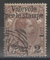 Italie - YT 51 Oblitéré - 1890 - 1878-00 Humbert I