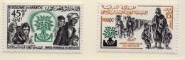 1960 - MAROCCO - MAROC - Yv:  Nr. 402/403 - NH - (UP121.17) - Morocco (1956-...)