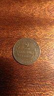 Pièce De 2 Centimes 1907 - France