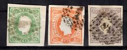 Portugal YT N° 22/24 Oblitérés. Premiers Choix. A Saisir! - 1862-1884 : D.Luiz I
