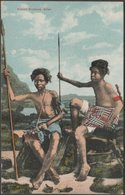 Somali Soldiers, Aden, C.1905-10 - J M Judah Postcard - Yemen