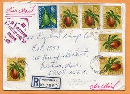 Montserrat 1970 Registered Cover Mailed - Montserrat