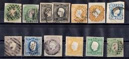 Portugal Belle Collection De Classiques Oblitérés 1855/1897. Nombreuses Bonnes Valeurs. B/TB. A Saisir! - Portugal