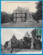 CPA 62 WIMILLE (Lot De 2) Le Château De La Croix ° Stévenard édit. N° 1440 + L'Eglise Et La Mairie ° LL N° 1 - Frankrijk