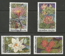 Thailand - 1991 Flowers Used   Sc 1402-5 - Thailand