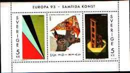 74198) SVEZIA 1993 Europa BF MNH** - Nuovi