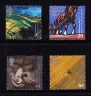 Great Britain 1999 Millenium Series: The Farmers' Tale Set Of 4 Used - 1952-.... (Elizabeth II)