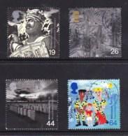Great Britain 1999 Millenium Series: The Soldiers' Tale Set Of 4 Used - 1952-.... (Elizabeth II)