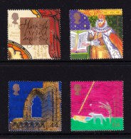 Great Britain 1999 Millenium Series: The Christians' Tale Set Of 4 Used - 1952-.... (Elizabeth II)