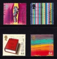 Great Britain 1999 Millenium Series: The Artists' Tale Set Of 4 Used - 1952-.... (Elizabeth II)