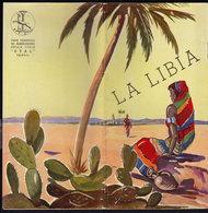 LA LIBIA - Publicité Pubblicità FOLDER BROCHURE GUIDE - GRAND PRIX FORMULA (see Sales Conditions) - Dépliants Turistici