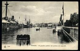 Venezia - Ai Giardini Pubblici Dal Pontone Dei Vaporetti - Non Viaggiata - Rif.  11684 - Venezia