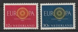 MiNr. 753 - 754 Niederlande  / 1960, 19. Sept. Europa. - 1949-1980 (Juliana)