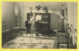 * Rekkem - Reckem (Menen - Menin) * (Nels) Pensionnat Des Religieuses De La Ste Union Sacrés Coeurs, Piano Salle D'étude - Menen