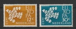 MiNr. 765 - 766 Niederlande  / 1961, 18. Sept. Europa. - 1949-1980 (Juliana)