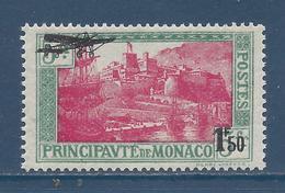 Monaco Poste Aérienne - PA YT N° 1 - Neuf Avec Charnière - 1933 - Poste Aérienne